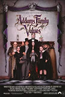 Addams Family Values Movie Poster (27 x 40 Inches - 69cm x 102cm) (1993) Style B -(Anjelica Huston)(Raul Julia)(Christopher Lloyd)(Joan Cusack)(Carol Kane)(Christina Ricci)