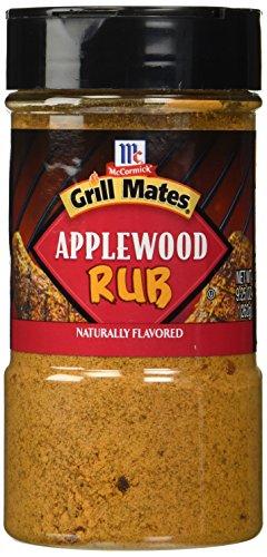 McCormick Grill Mates Applewood Rub 9.25 oz, (2 Pack)