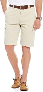Roundtree & Yorke Casuals Mens Washed Twill Cargo Shorts S75HR326, S75HR326B