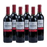 Vino tinto Nuntius Cosecha de 75 cl - D.O.Rioja - Bodegas Grupo Estevez (Pack de 6 botellas)