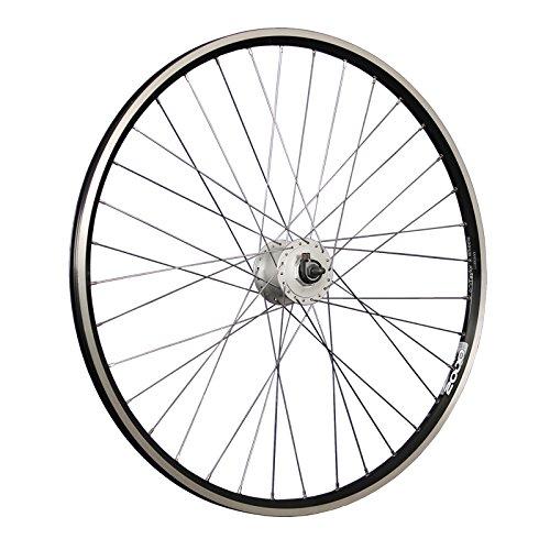 Taylor-Wheels 28 Zoll Vorderrad Laufrad ZAC2000 Shimano DH-C3000-3N Vollachse - schwarz