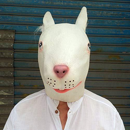 IHZ Linda mscara de Cabeza de Conejo, mscara de Animal para la Cabeza, Modelo de utilera para fotografa de Boda