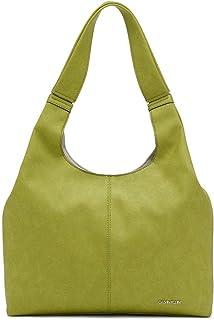 Calvin Klein Damen Shoulder Bag Kylee Novelty Hobo Schultertasche, Einheitsgröße