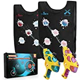 Water Guns & Water Activated Vests, Water Battle Guns Toy for Kids in The Backyard, Great Outdoor...