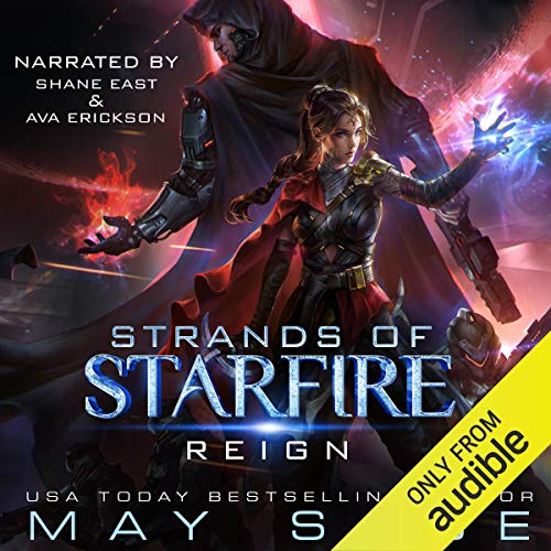 Reign: A Space Fantasy Romance audiobook cover art