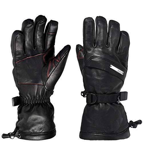 LIERSI Thermische Handschuhe Touch Screen Winter Handschuhe wasserdichte Ski Handschuhe Schnee Handschuhe 3M Thinsulate Cold Weather Handschuhe Für Outdoor Sports,L