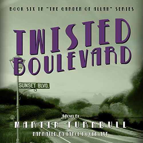 Twisted Boulevard audiobook cover art