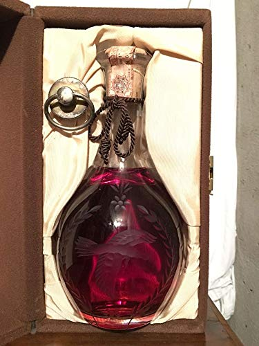 Wild Turkey Crystal Decanter con estuche en terciopelo