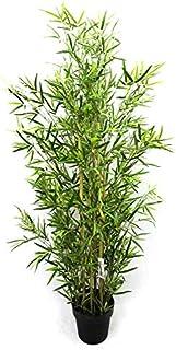 GreenBrokers Árbol de bambú Artificial de 150 cm, Verde