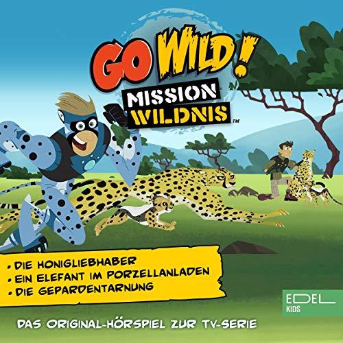 Der Honigliebhaber / Ein Elefant im Porzellanladen / Die Geparden-Tarnung. Das Original-Hörspiel zur TV-Serie Titelbild
