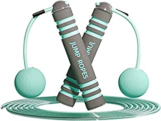 YIVIVEN Jump Rope, Jump Rope Without Rope, Cordless Jump Rope, Adjustable Weighted Jump Rope, Tangle-Free Ropeless Jump Ro...