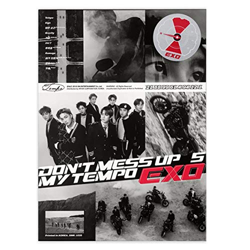 EXO 5th Album - Don't Mess Up My Tempo  ALLEGRO ver.  CD +