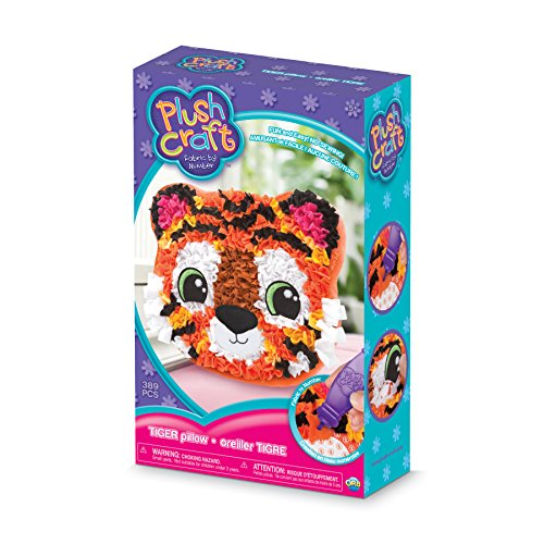 Orb Factory Plushcraft Fabric Fun Kit-Tiger