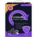 Best Flushable Cat Litters - Bolux Flushable Cat Litter, Low Tracking Clumping Tofu Review
