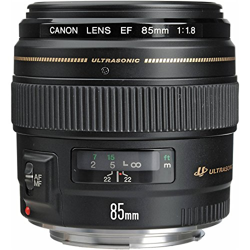 Our #3 Pick is the Canon EF 85mm f/1.8 USM Medium Telephoto Lens