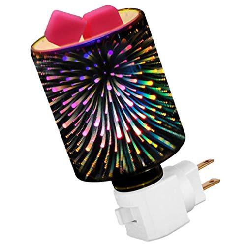 OSALADI Plug-in Flame Wax Warmer Electric Burner Melter Fragrance Lamp Glass Candle Warmer Kitchen, Bathroom, Home Decor