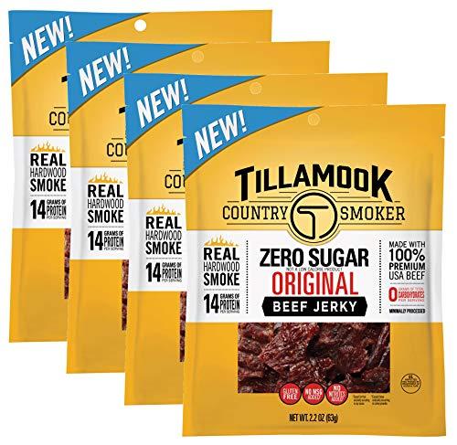 Zero Sugar Beef Jerky Original Flavor, 8.8 Ounces (pack of...