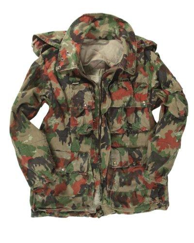 Alpentarnjacke der Schweizer Armee, strapazierfähig Medium camouflage
