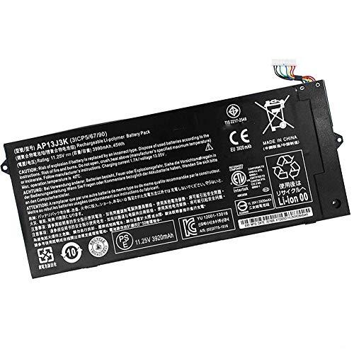 XITAIAN 11.25V 3990mAh 45Wh AP13J3K AP13J4K Replacement Laptop Battery for Acer Chromebook C720 C720P C740 C720-2844 C740-C5U9 ZU12029-13020