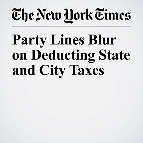 Party Lines Blur on Deducting State and City Taxes copertina