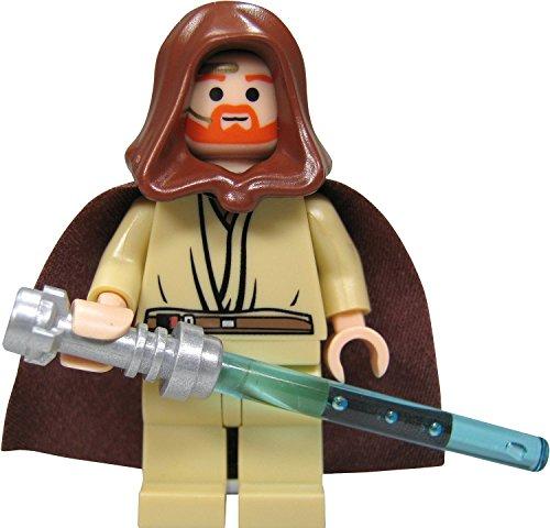 LEGO Star Wars: Obi-Wan Kenobi Minifigura Con Azul Sable De Luz