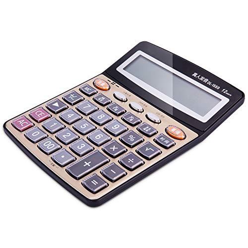 IQQI Rechner 12-Bit Multifunktions-Desktop Office Finance Spezialrechner Sprachcomputer