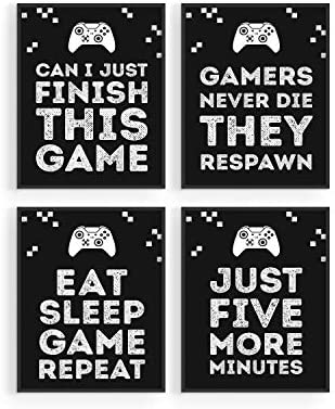 Gaming Posters for Gamer Room Decor by Haus and Hues Xbox Game Posters Gaming Decor and Video product image