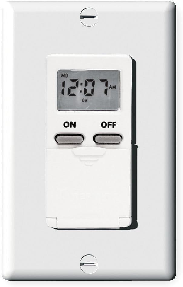 Digital Timer 7-Day Spasm price SPST Time sale White 120 V