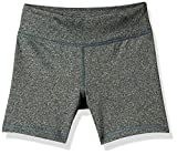 Amazon Essentials - Pantalones cortos deportivos elásticos para niña, Grey Spacedye, US 2T (EU 92-98)