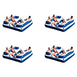 Intex Oasis Island Inflatable 5 Person Lake...