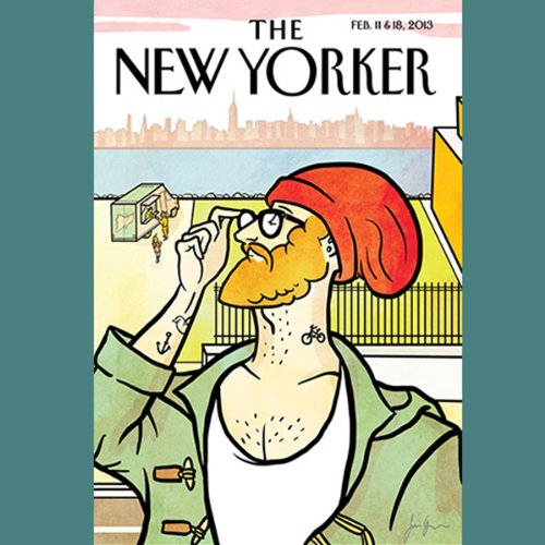 The New Yorker, February 11th & 18th 2013: Part 2 (Patrick Radden Keefe, James Surowiecki, David Denby) cover art