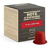 Note d'Espresso - Cápsulas para las cafeteras Nespresso, Red Raspberry Tea, 40 unidades de 7 g