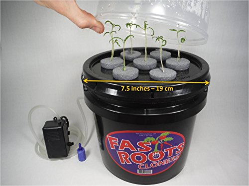 Indoor 7 Site Plant Cloning Machine Easy Root Growing Hydroponics...