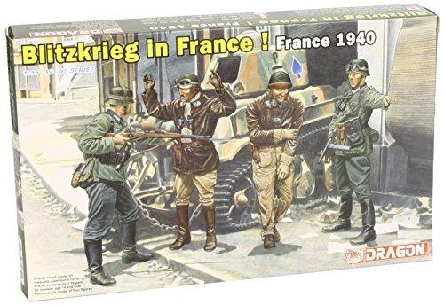 Dragon - D6478 - Maquette - Infanterie Allemande Blitzkrieg France - Echelle 1:35