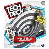 TECH DECK, Build-A-Park World Tour, Square Robert-Bajac, Paris, France, Ramp Set with Plan B Skateboards Aurelien Giraud MVP Signature Fingerboard