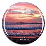 Weekino Indonesia Legian Beach Bali Imán de Nevera 3D de Cristal de la Ciudad de Viaje Recuerdo Colección de Regalo Fuerte Etiqueta Engomada refrigerador