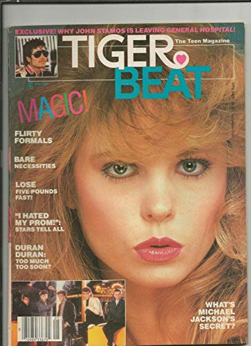 ORIGINAL Vintage May 1984 Tiger Beat Magazine Michael Jackson Duran Duran - Music Magazines