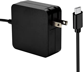 65W USB C Charger Compatible for HP Spectre 13;HP Elite x2; HP Spectre x2 12;HP Pavilion X2;HP Pro x2 HP Eclipse Notebook by VEONES