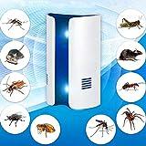 Controllo degli insetti 6W repellente contro le onde elettromagnetiche di conversione di frequenza dell'onda elettromagnetica, repeller di insetto ultrasonico, spina americana, formato: 12 * 10 * 6.0