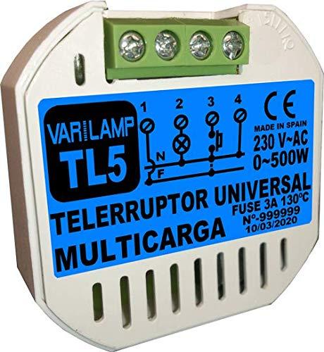 TL5. Telerruptor UNIVERSAL para cualquier tipo de carga a 23