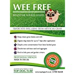 WEE FREE 5 Ltr Artificial Grass Cleaner and Pet Odour Eliminator for Dog Urine - Disinfectant, Neutraliser and Deodoriser for Dog Wee on Astro Turf and Fake Lawns. Safe for Dogs and Animals. 12
