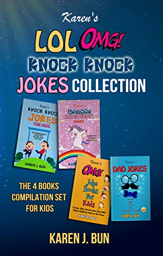 Karen's LOL, OMG And Knock Knock Jokes Collection: The 4 Books Compilation Set For Kids (English Edition)