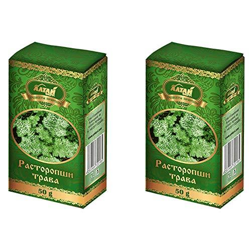 Mariendistelkraut Kräutertee 2er Pack (2x50g) Altai Kräuter Teegetränk Tee расторопши трава