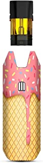 IT'S A SKIN Decal Vinyl Wrap Compatible with STIIIZY BIIIG Big <b>TM</b> Premium Vaporizers Sticker Sleeve Cover | Vape Stickers Skins Cover| Ice Cream Cone Pink Sprinkles