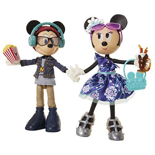 Disney Minnie & Mickey Movie Night Doll 2-Pack Playset -  Jakks, 202601