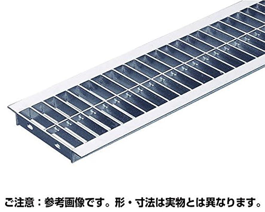 圧倒的多様性信頼性ハイロジック 並目プレーン溝蓋グレーチング内幅240×長さ995×高さ19mm OKU 25-19