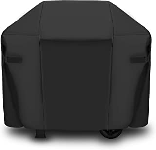 CAB55 BBQ Gas Grill Cover, Heavy Duty Waterproof 600D Polyester Fabric (147CM*62CM*114CM)