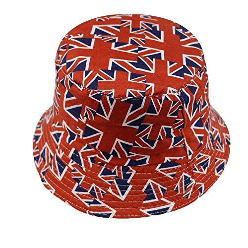 Bucket Hat Chapeau Casquettes De Pêcheur Deux Côtés Réversibles Marine Rayé Étoile Bleu Marine Homme