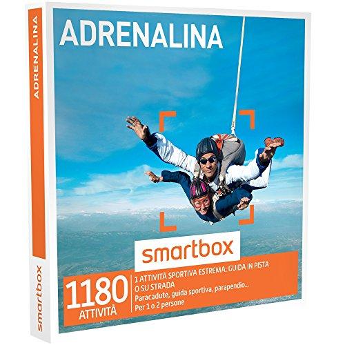 smartbox - Cofanetto Regalo - ADRENALINA - 1180 esperienze adrenaliniche
