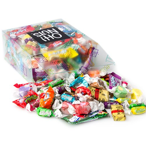 Oh! Nuts Taffy Candy Trick or Treat Assortment Variety Care Package Gift Basket